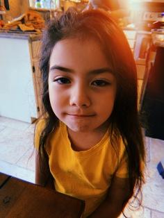 Alessandra...my goddaughter & ray of sunshine