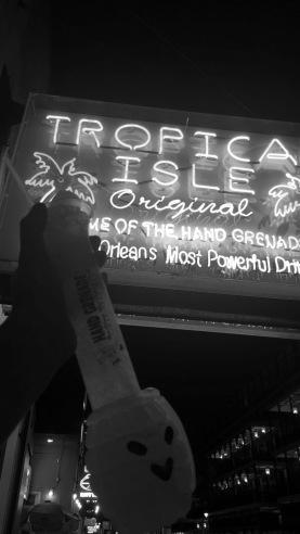Hand Grenades at Tropical Isle