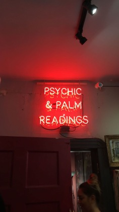 Psychic, and palm readings, and a seance, OH MY!