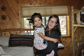 Alessandra and Cara
