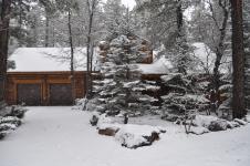 Dreamy log cabin
